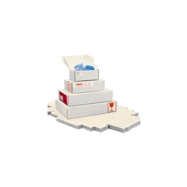 Pressel Versandschachtel 1-wellig 155x110x100 mm A6 weiß 20 Stück