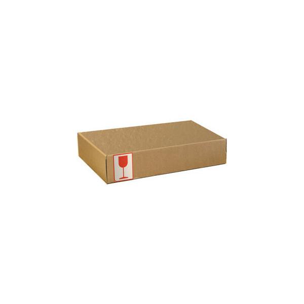 Pressel Versandschachtel 1-wellig 350x235x50 mm A4+ braun 20 Stück