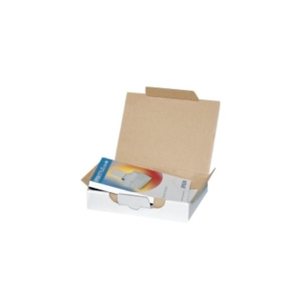 Pressel Versandschachtel 1-wellig 345x230x44 mm weiß 25 Stück