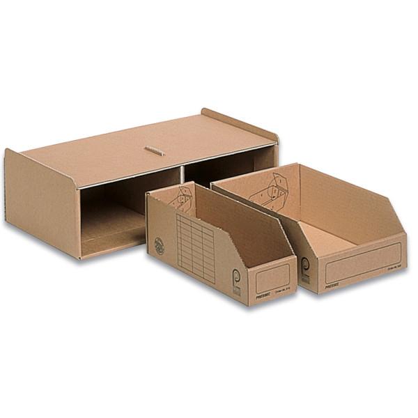 Pressel Aufbewahrungsbox Kleinteilemagazin 14x2x28/14x1x28cm