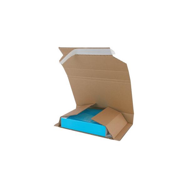 Pressel Versandschachtel Multi-Mail 244x169x-70 mm C5 braun 25 Stück