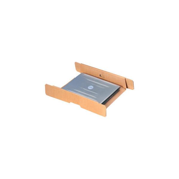 Pressel Versandkarton LAPSNAP für Laptop 440x322x92 mm braun 10 Stück
