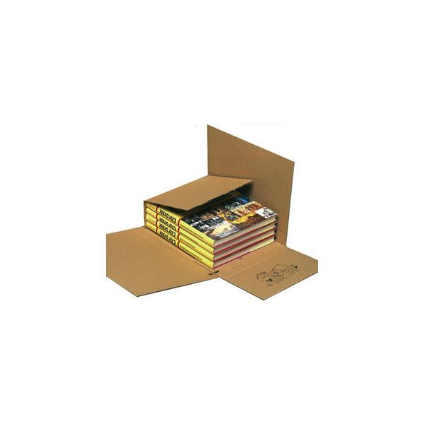 Pressel Versandkarton Multi-Mail 961 braun 302x215x 10-90mm für Bücher 25 Stück
