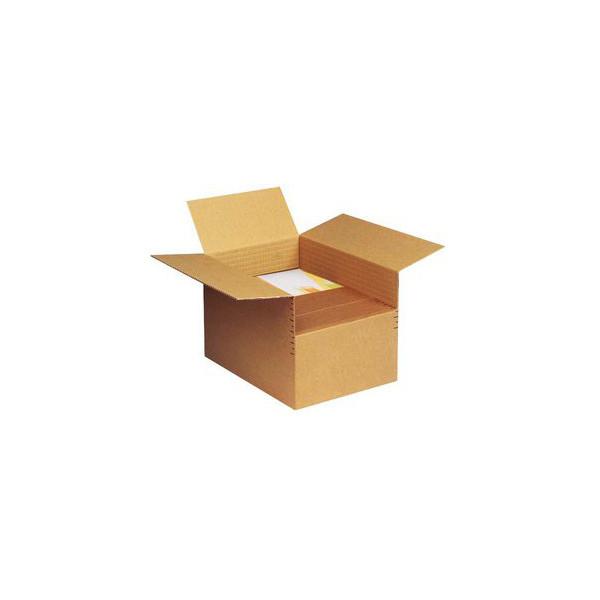 Pressel Versandkarton 1-wellig 300x210x100-200 mm A4 braun 20 Stück