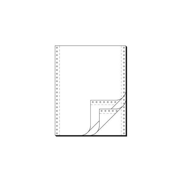 Sigel Endlospapier 91300, A4 hoch blanko, 3-fach, 12 Zoll x 240 mm, 600 Sätze