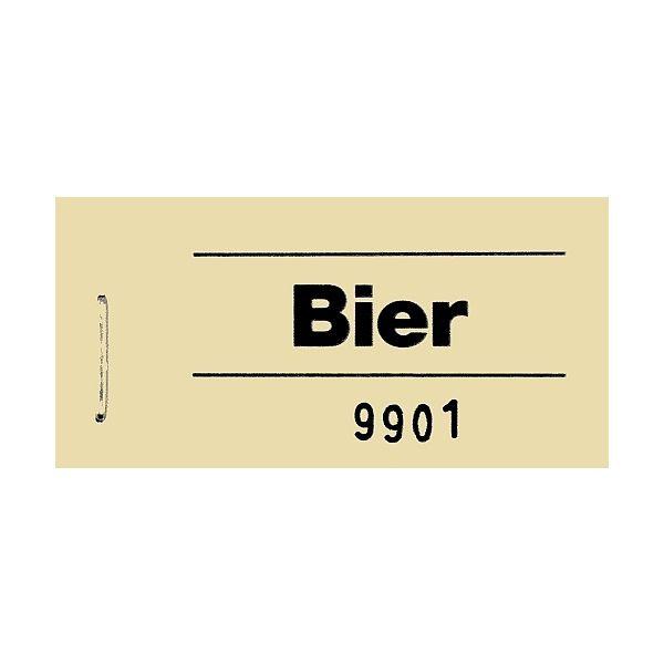 Wolf & Appenzeller Block Gutschein Bier gelb gelb Nr.701012