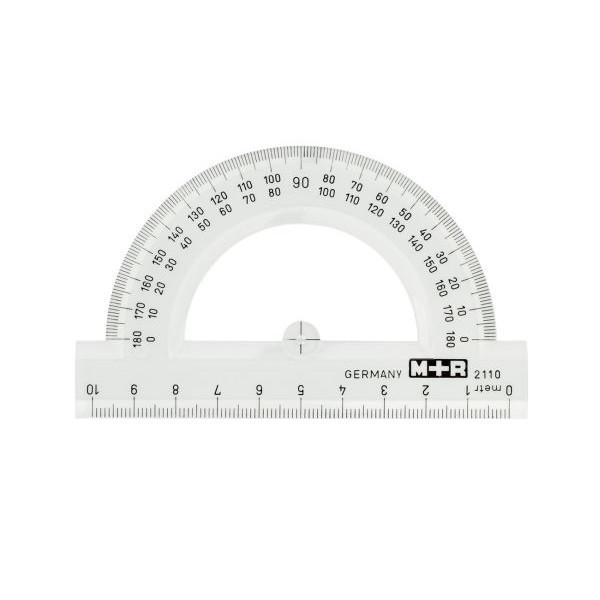M+R Winkelmesser glasklar 10cm