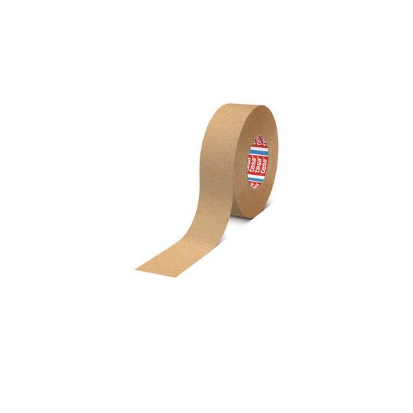Tesa Packband 43190-001200, 50mm x 50m, Papier, handabreissbar, braun