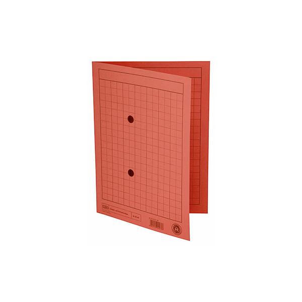 Elba Umlaufmappe 35461 A4 250g Karton rot mit 2 Sichtlöchern