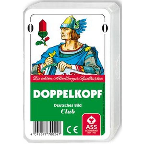 ASS Spielkarten Doppelkopf deutsches Blatt Kunststoffetui