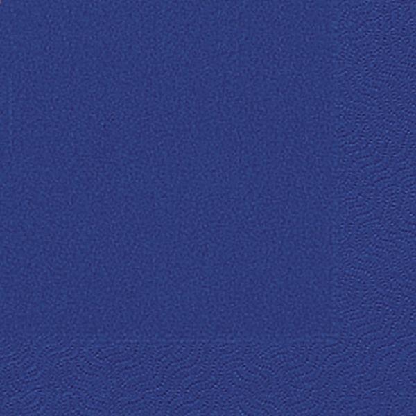 DUNI Servietten 33x33cm dunkelblau 3-lagig 1/4-Falz 20 Stück