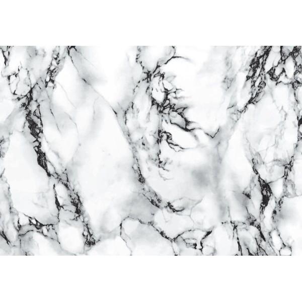 d-c-fix Design-Bastelklebefolie 45cm x 2m Marmor weiß 346-0047