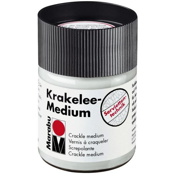 MARABU Krakelee Crackle Medium 1140 05 840, klar, 50ml