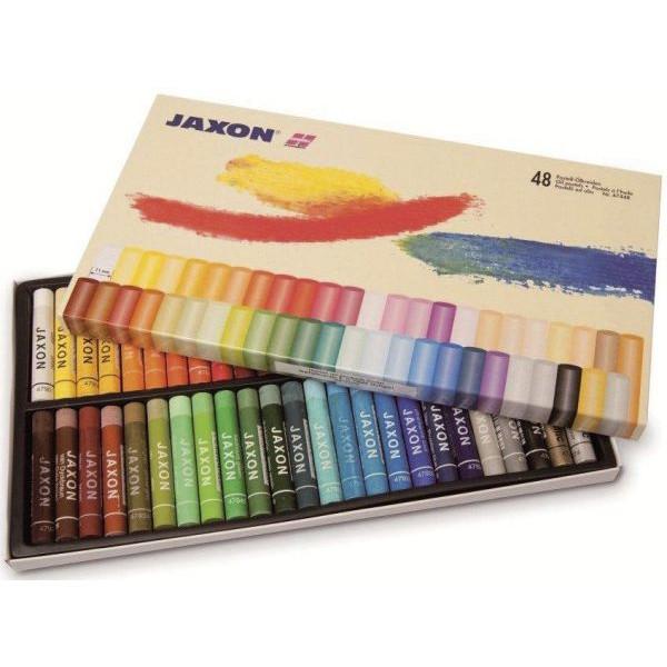 JAXON 47448 48er-Et Pastell-Ölkreide sort.