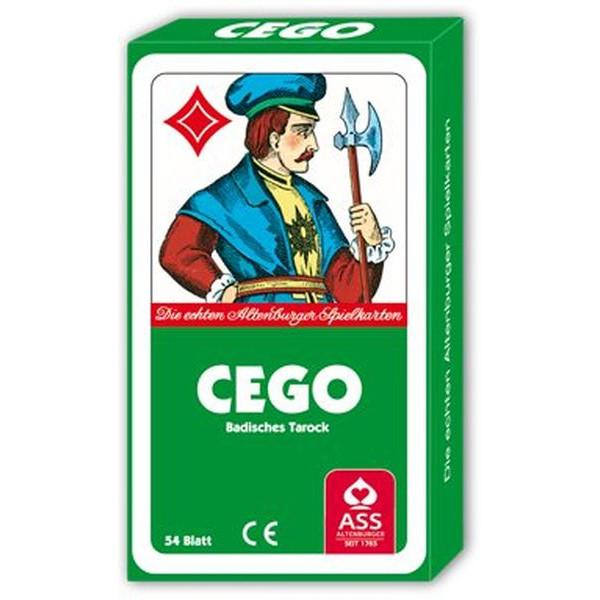 ASS Spielkarten Cego Badisches Tarock Pappschachtel