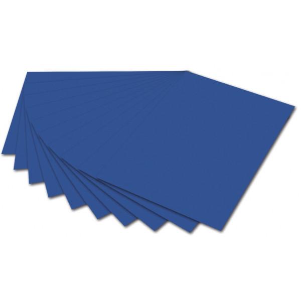 FOLIA 614/50 35 300g Fotokarton A4 königsblau