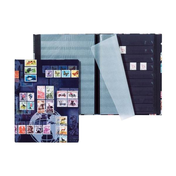 PAGNA 30123-15 A4 8bl Lack AxD Briefmarkenalbum Markenm. sw