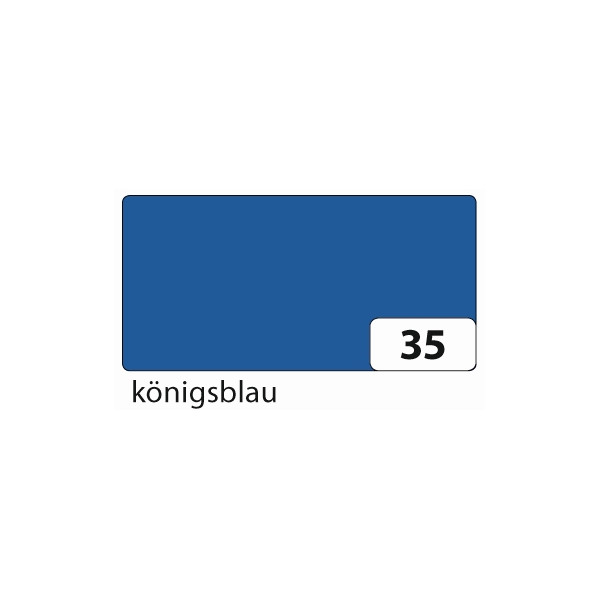 FOLIA 6735 E Tonpapier 50x70cm 130g kö.blau