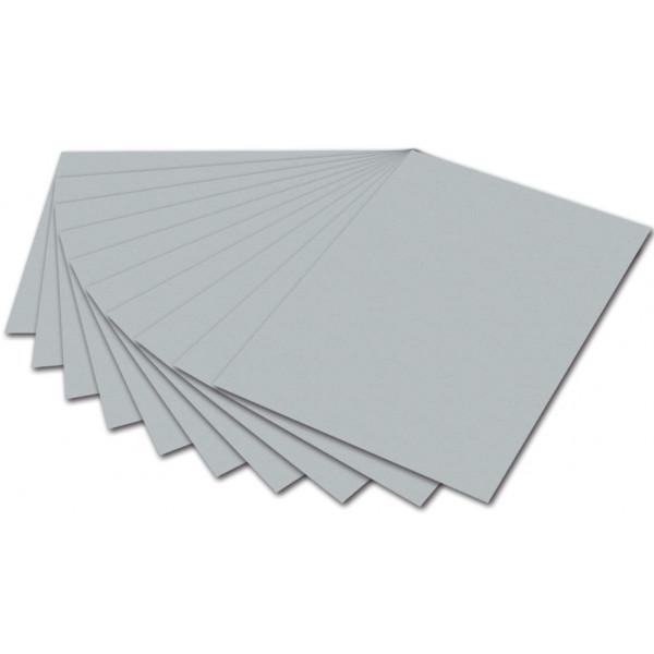 FOLIA 6460 130g Tonpapier A4 silber