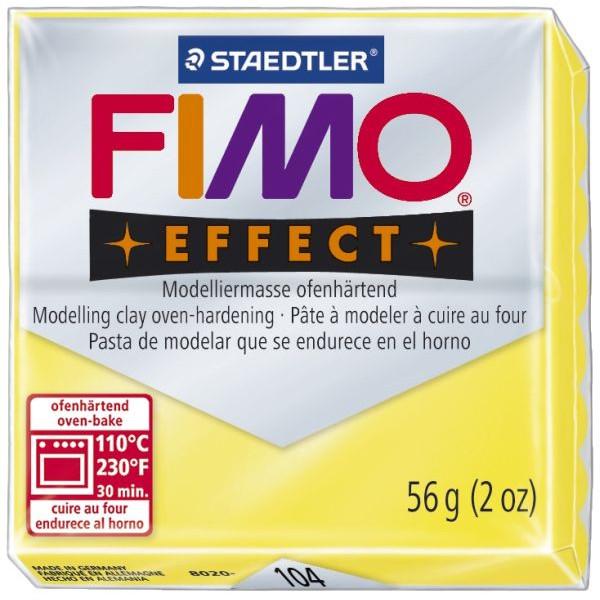 Staedtler Fimo Effect 8020-104 Modelliermasse 57g transparentgelb