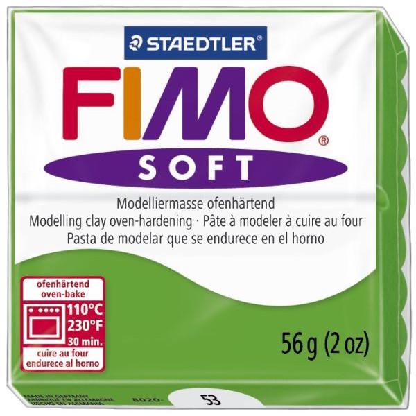 Staedtler 8020-53 Soft 56g Modelliermasse Fimo trop.grün