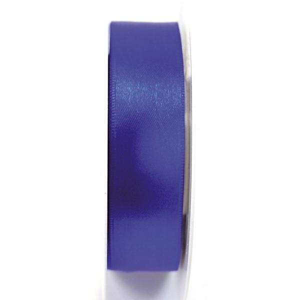 GOLDINA Geschenkband Doppelsatinband 25mm x 25m königsblau