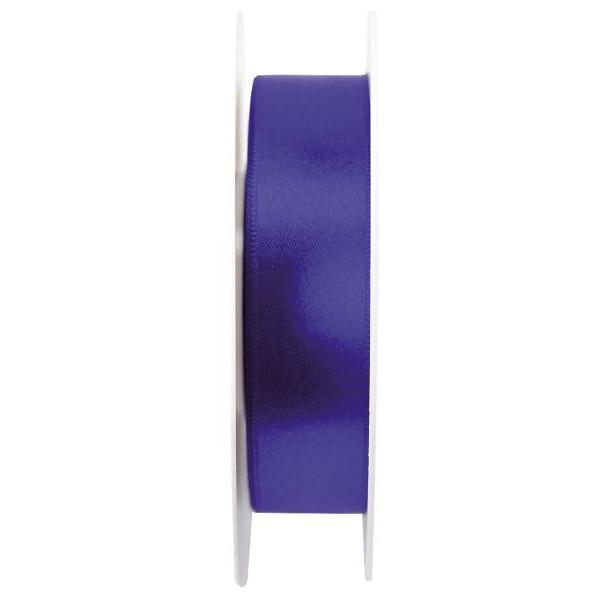 GOLDINA Geschenkband Doppelsatinband 25mm x 25m ultramarin