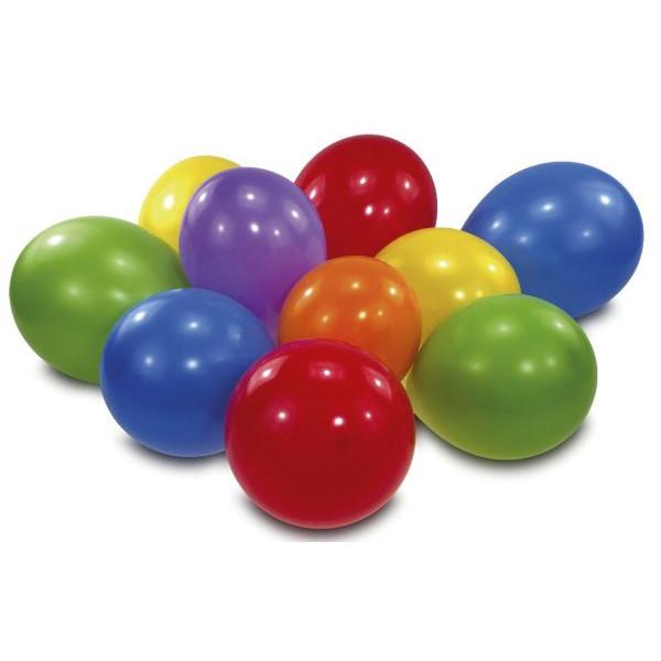 amscan 6435 10ST D75cm Luftballon regenbogenfarben