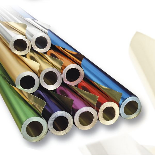 FOLIA 160/20 50x78cm 20RL Metallfolie silber/silber
