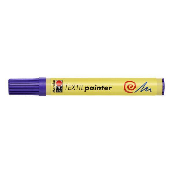 MARABU Stoffmalstift 0117 03 251, violett, 2-4mm