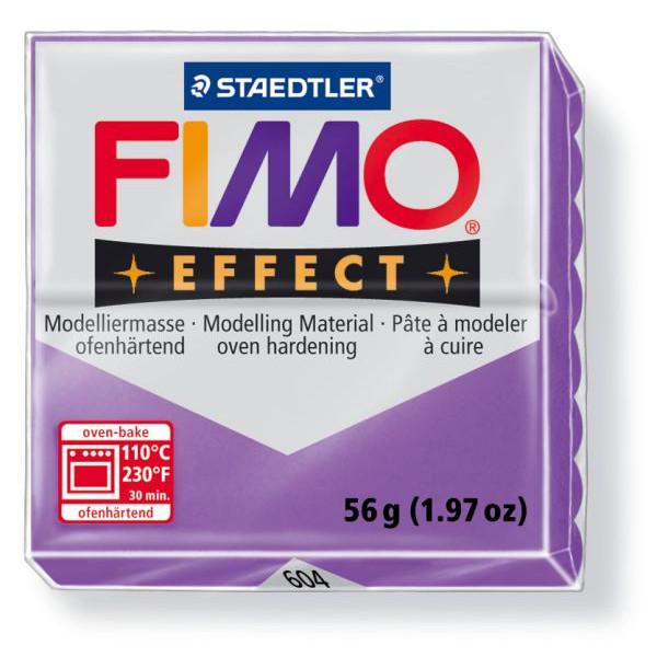 Staedtler 8020-604 Soft 56g Modelliermasse Fimo trans.lila