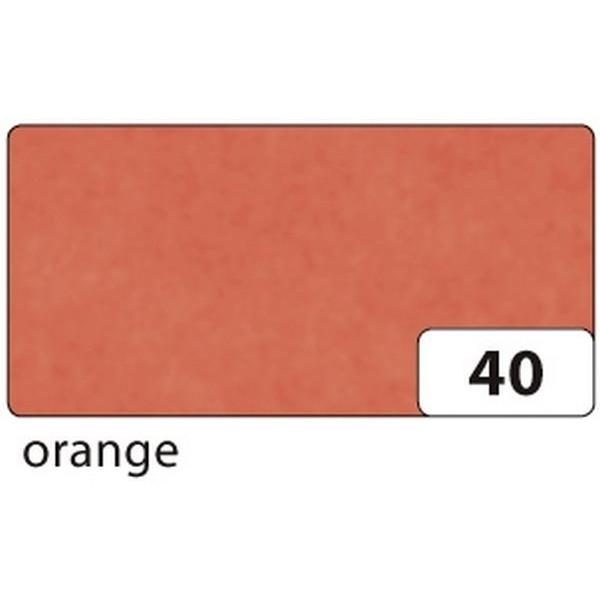 FOLIA Drachenpapier 82540 70x100cm gefalzt auf 35x50cm 42g orange 25 Bögen