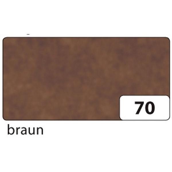 FOLIA 82570 25Bg 70x100 Drachenpapier 42g gef. braun