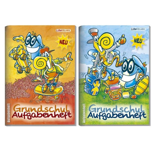 HÄFFT Hausaufgabenheft Grundschule A6 30 Wochen 32 Blatt