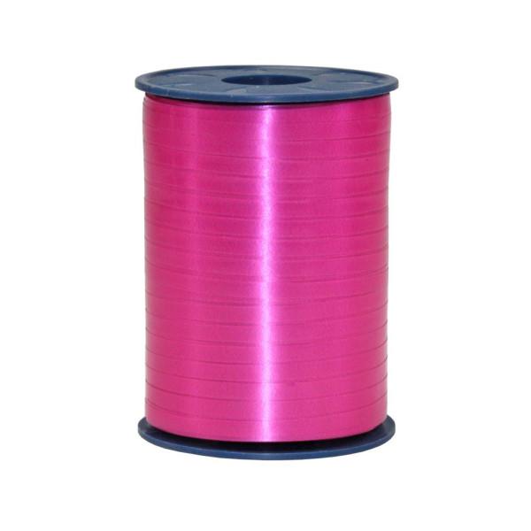 Präsent Geschenkband Ringelband 5mm x 500m pink
