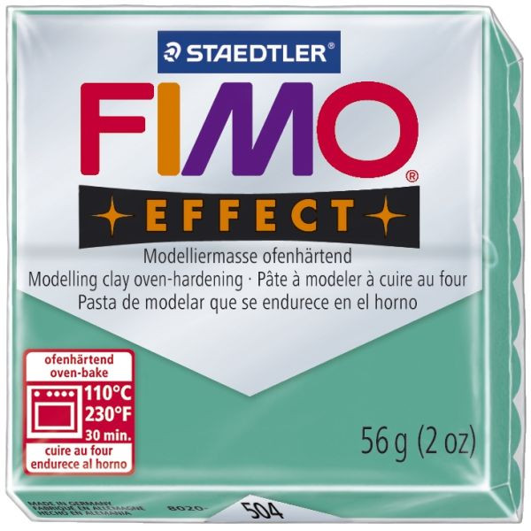 Staedtler 8020-504 Soft 56g Modelliermasse Fimo trans.grün