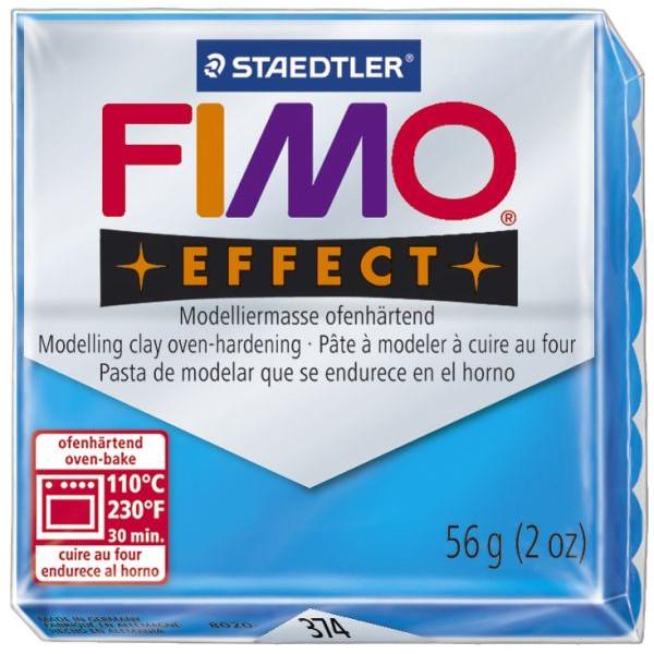 Staedtler Fimo Effect 8020-374 Modelliermasse 57g transparentblau
