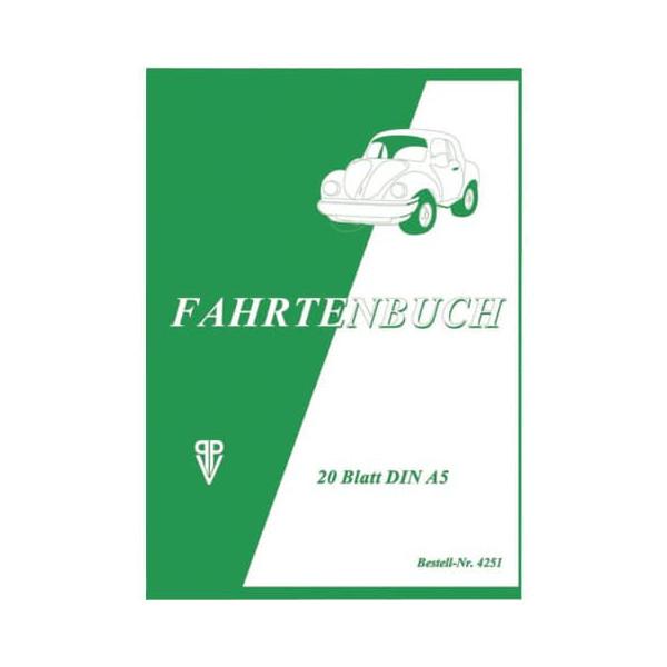 PVP Penig 4251 Fahrtenbuch A5 20BL