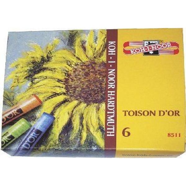 KOH-I-NOOR 8512 Toison d'Or Pastellkreide 12 Farben