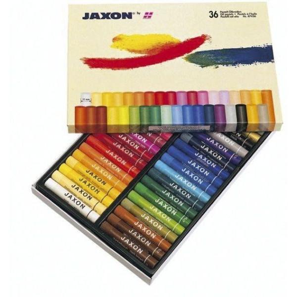 JAXON 47436 36er-Et Pastell-Ölkreide sort.