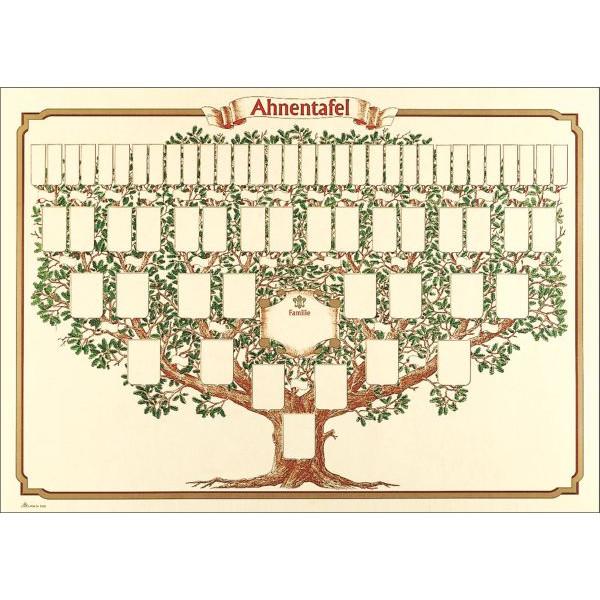 RNK Ahnentafel 2808 Baum 50x70 1-63 Per