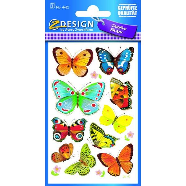 Zweckform 4462 Schmucketikett Schmetterling