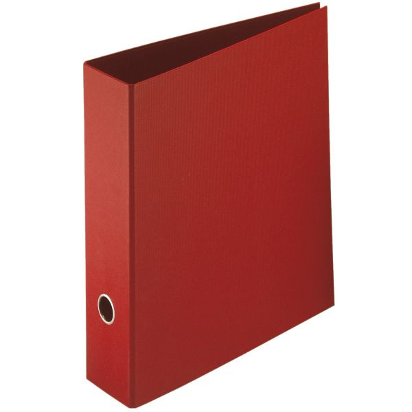 Rössler Ordner Soho rot 85 mm Recycling