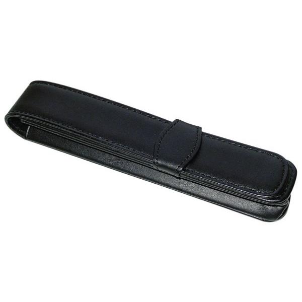 ONLINE Schreibgeräteetui Classic schwarz für 1 Schreibgerät Leder