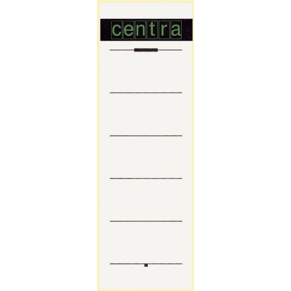 CENTRA 521114 Ordnerrückenschild zu 10 weiß