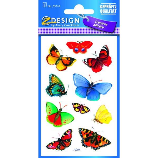 Zweckform 55710 Schmucketikett Schmetterling