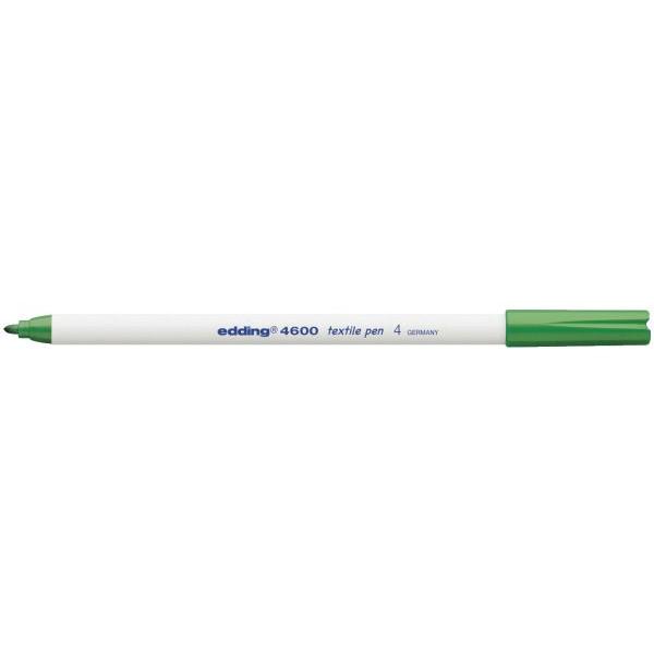 EDDING Wäschemarker 4600 grün 1mm Rundspitze