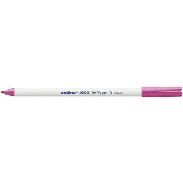 EDDING Wäschemarker 4600 rosa 1mm Rundspitze