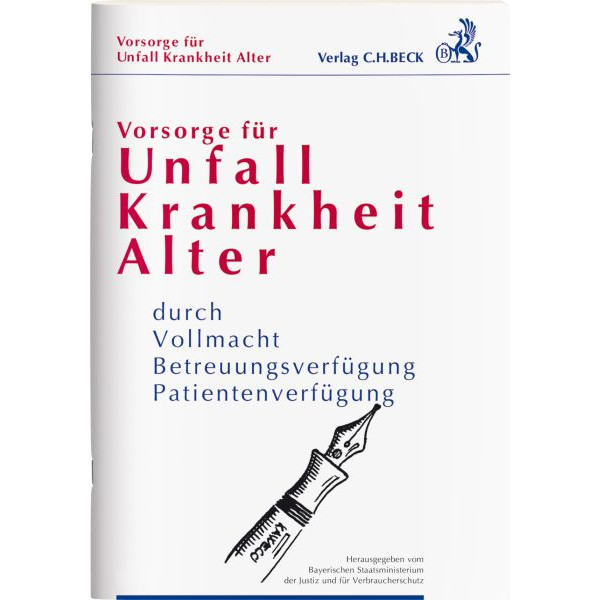 RNK 67602/66321 Krankheit Broschüre Vorsorge Unfall