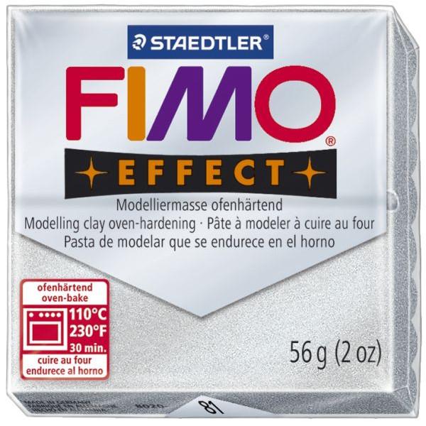 Staedtler 8020-81 Soft 56g Modelliermasse Fimo silber